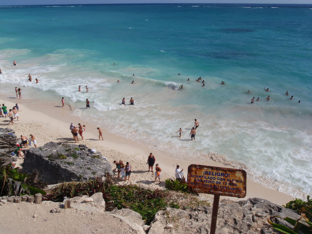 Пляж Тулум в Мексике, фото 8