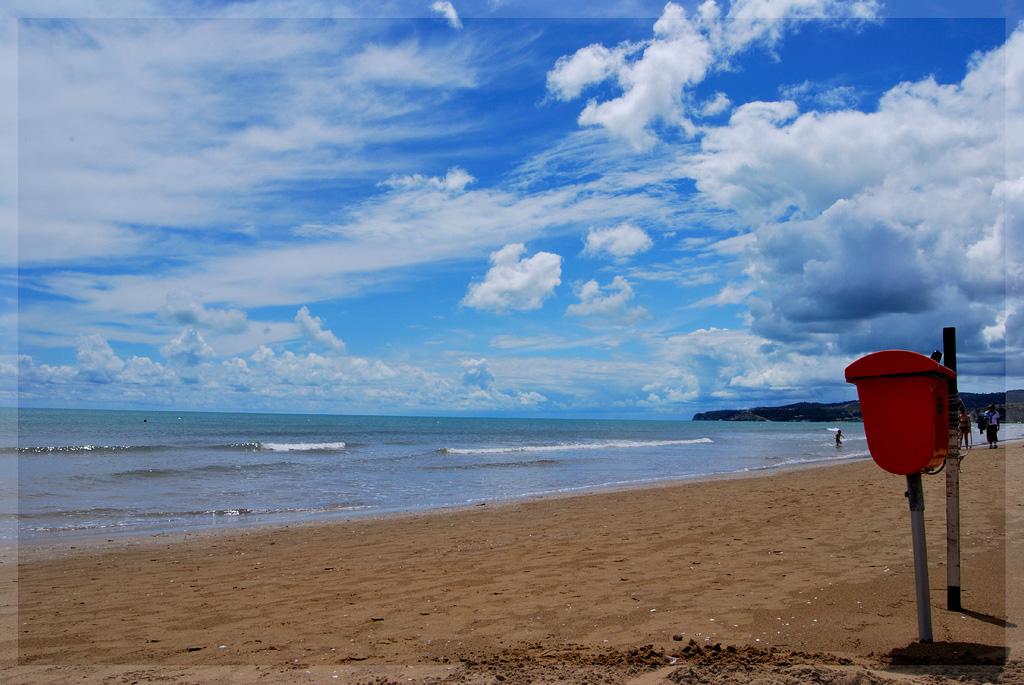 Пляж Вьесте в Италии, фото 2