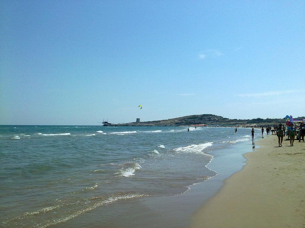 Пляж Вьесте в Италии, фото 3