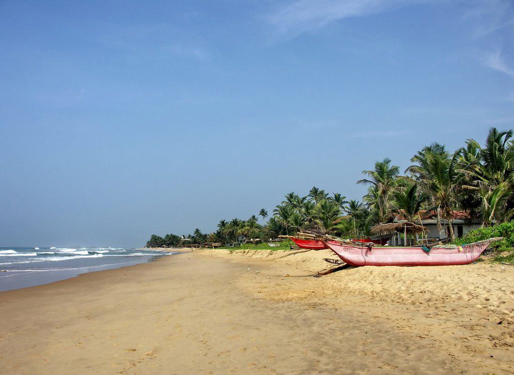 Пляж Хиккадува в Шри-Ланке, фото 2