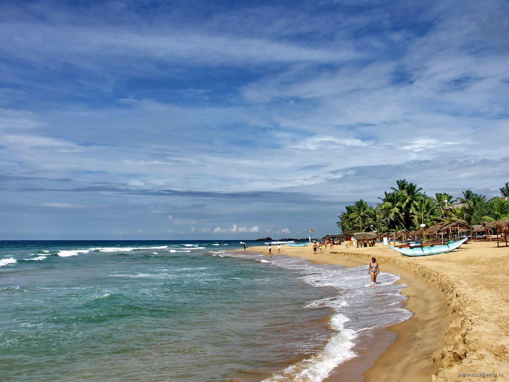 Пляж Хиккадува в Шри-Ланке, фото 3