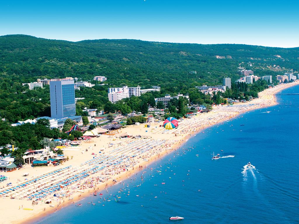 Пляж Золотые Пески в Болгарии, фото 3