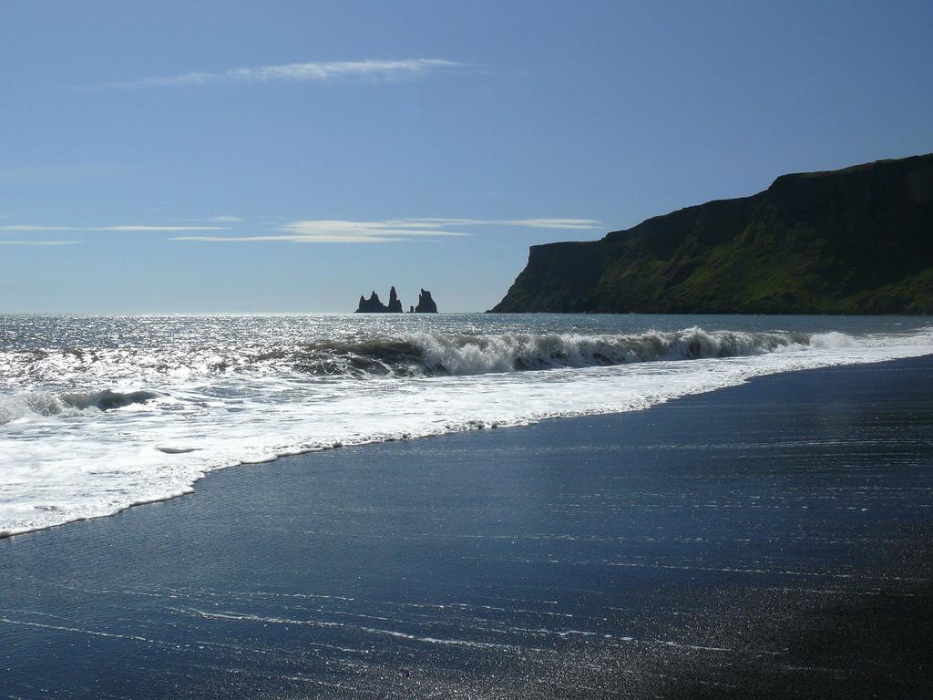 Пляж Блек Бич в Исландии, фото 3