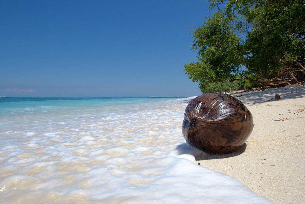 Пляж Гили-Траванган в Индонезии, фото 4