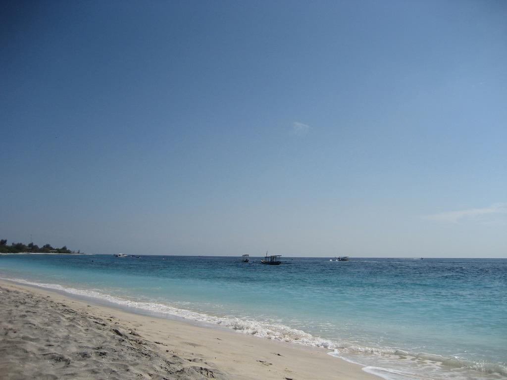 Пляж Гили-Траванган в Индонезии, фото 5