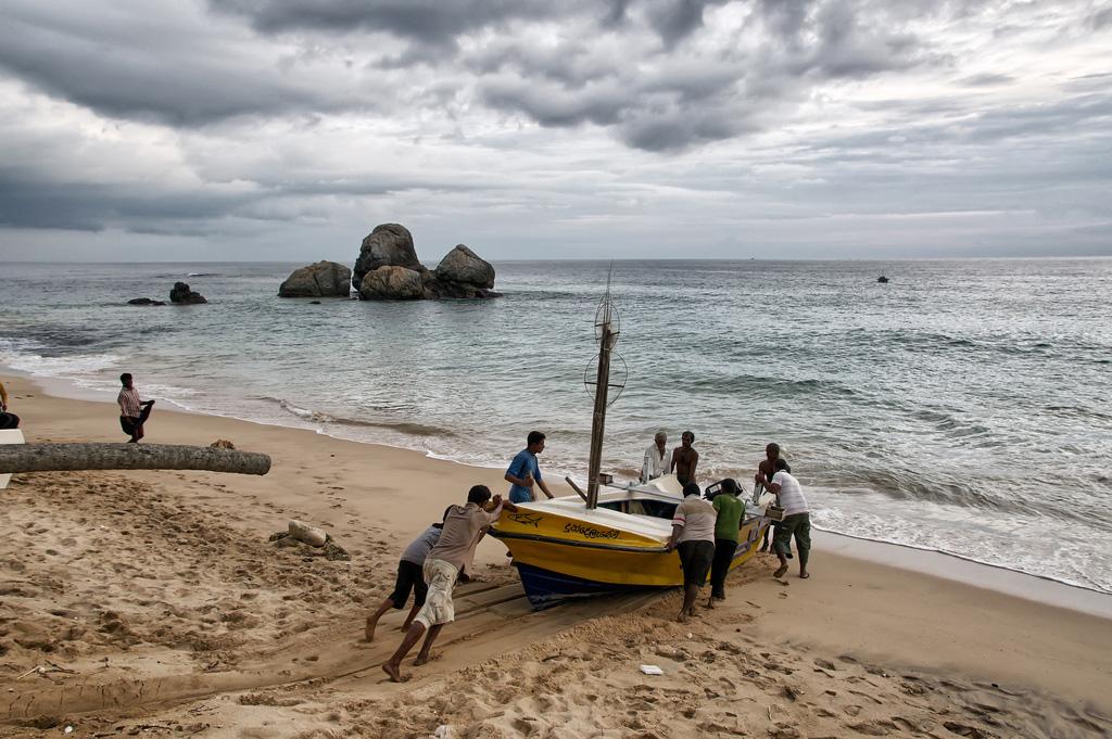 Пляж Когалла в Шри-Ланке, фото 1
