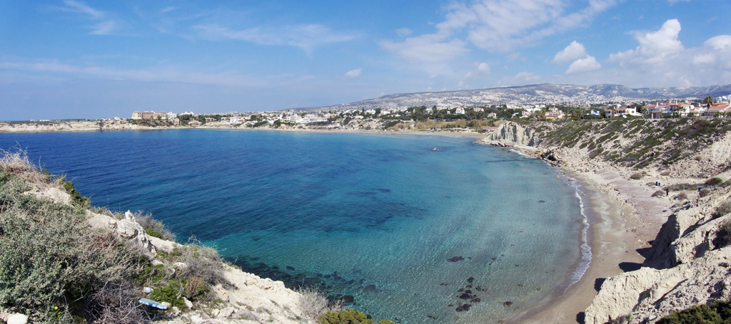 Пляж Корал Бэй на Кипре, фото 3