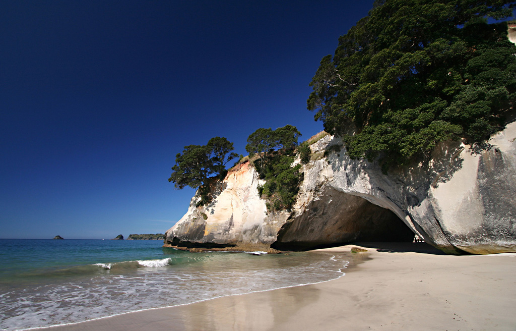 Пляж Коромандел в Новой Зеландии, фото 1