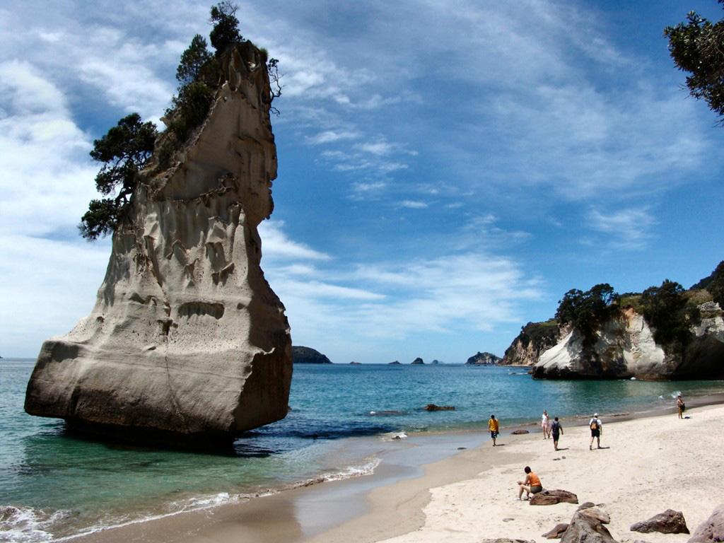 Пляж Коромандел в Новой Зеландии, фото 4