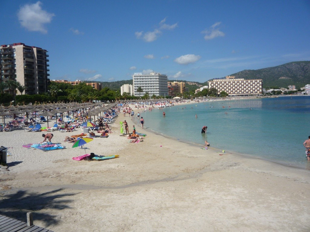Пляж Пальма Нова в Испании, фото 2