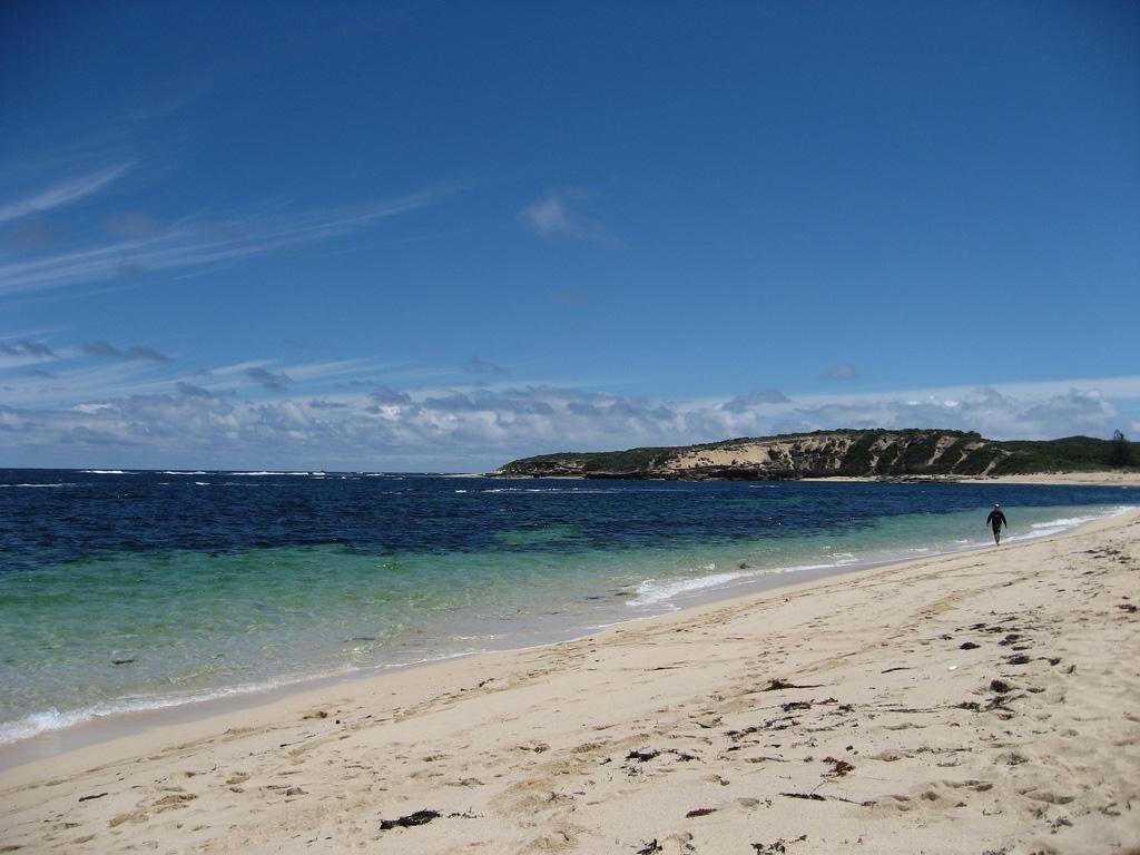 Пляж Спрингс в Австралии, фото 1