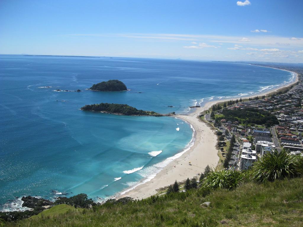 Пляж Тауранга в Новой Зеландии, фото 1