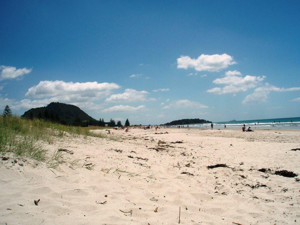 Пляж Тауранга в Новой Зеландии, фото 3