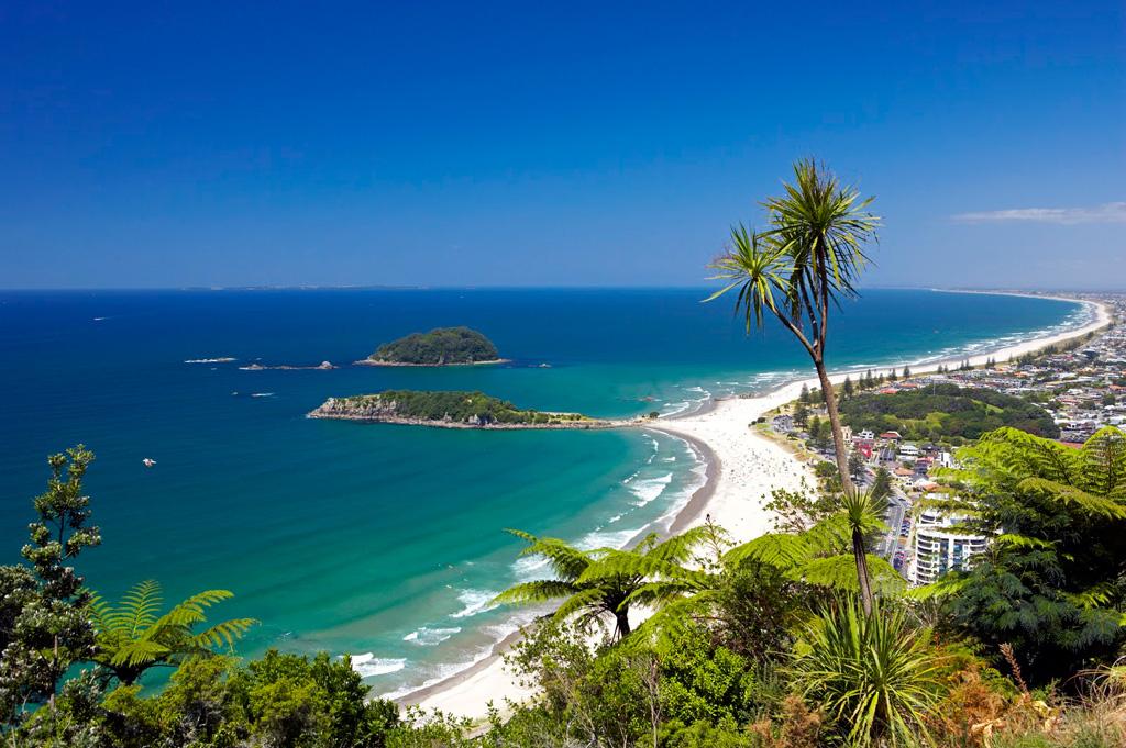 Пляж Тауранга в Новой Зеландии, фото 7