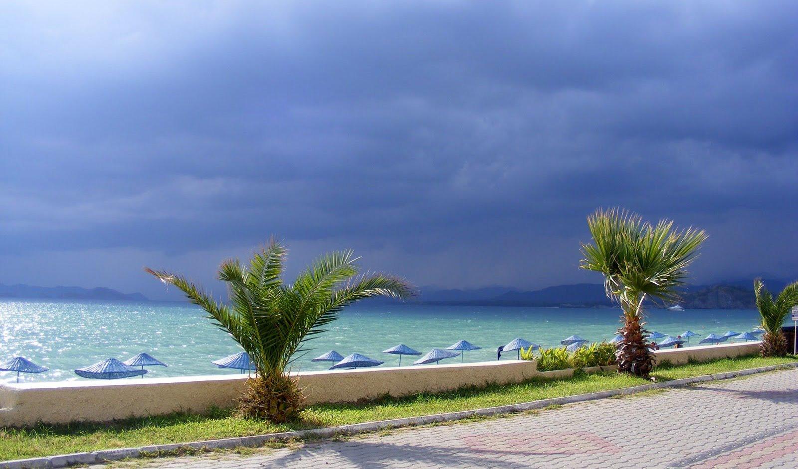 Пляж Чалыш в Турции, фото 1