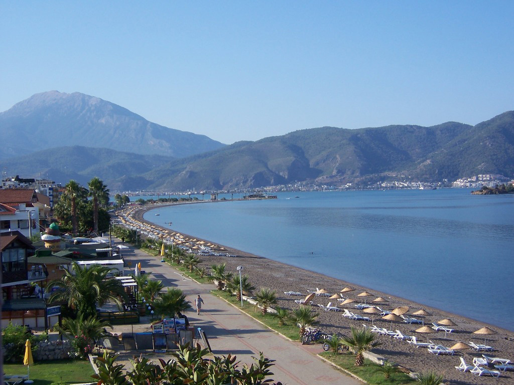 Пляж Чалыш в Турции, фото 4