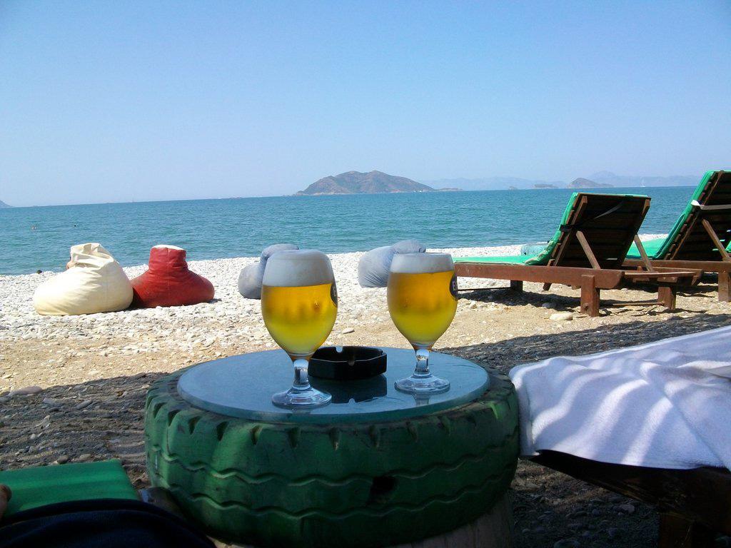 Пляж Чалыш в Турции, фото 13
