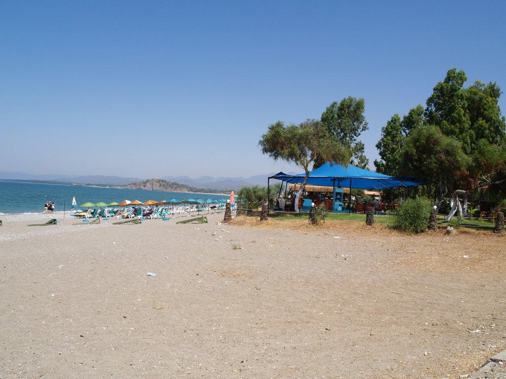 Пляж Чалыш в Турции, фото 18
