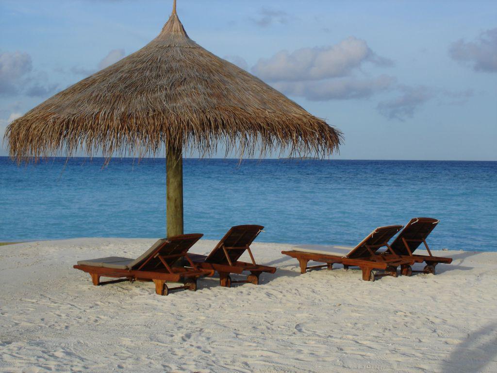 Пляж Конрад Рангали на Мальдивах, фото 3