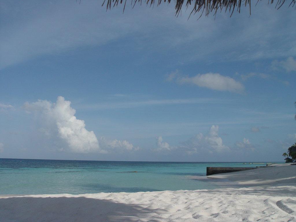 Пляж Конрад Рангали на Мальдивах, фото 4