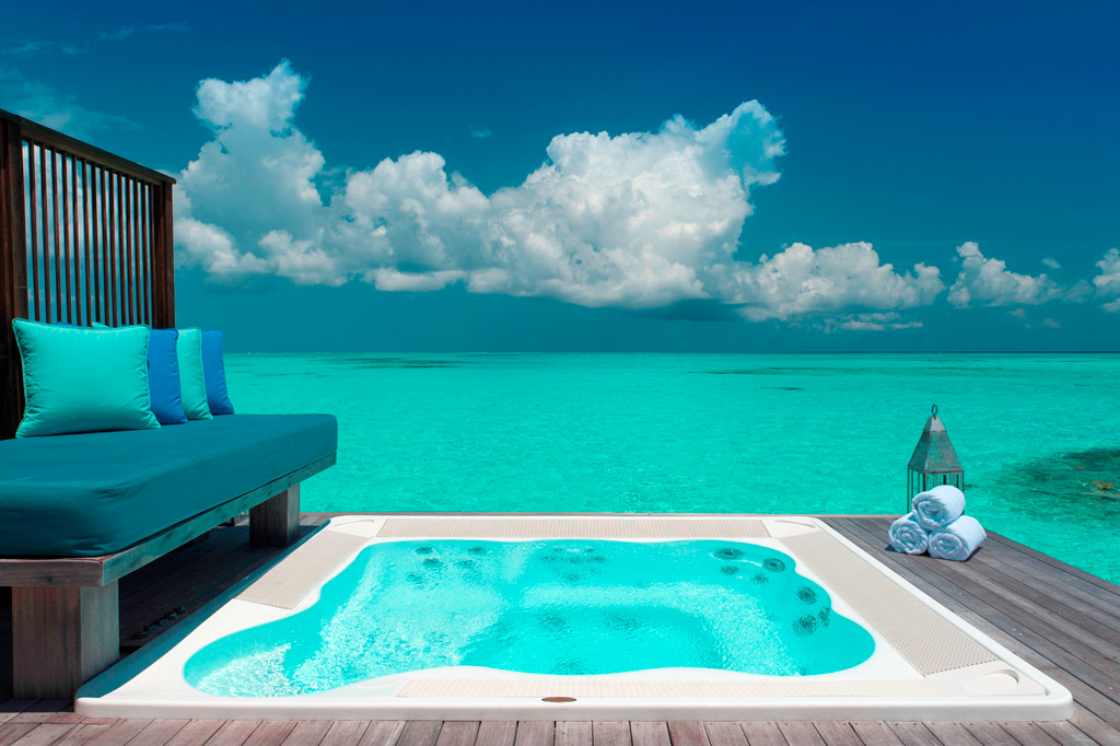 Пляж Конрад Рангали на Мальдивах, фото 5