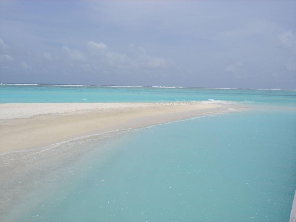 Пляж Конрад Рангали на Мальдивах, фото 6