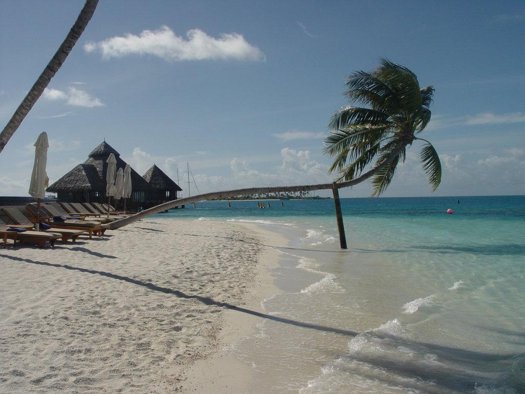 Пляж Конрад Рангали на Мальдивах, фото 7