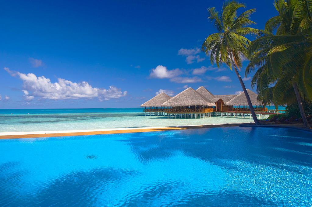 Пляж Конрад Рангали на Мальдивах, фото 11