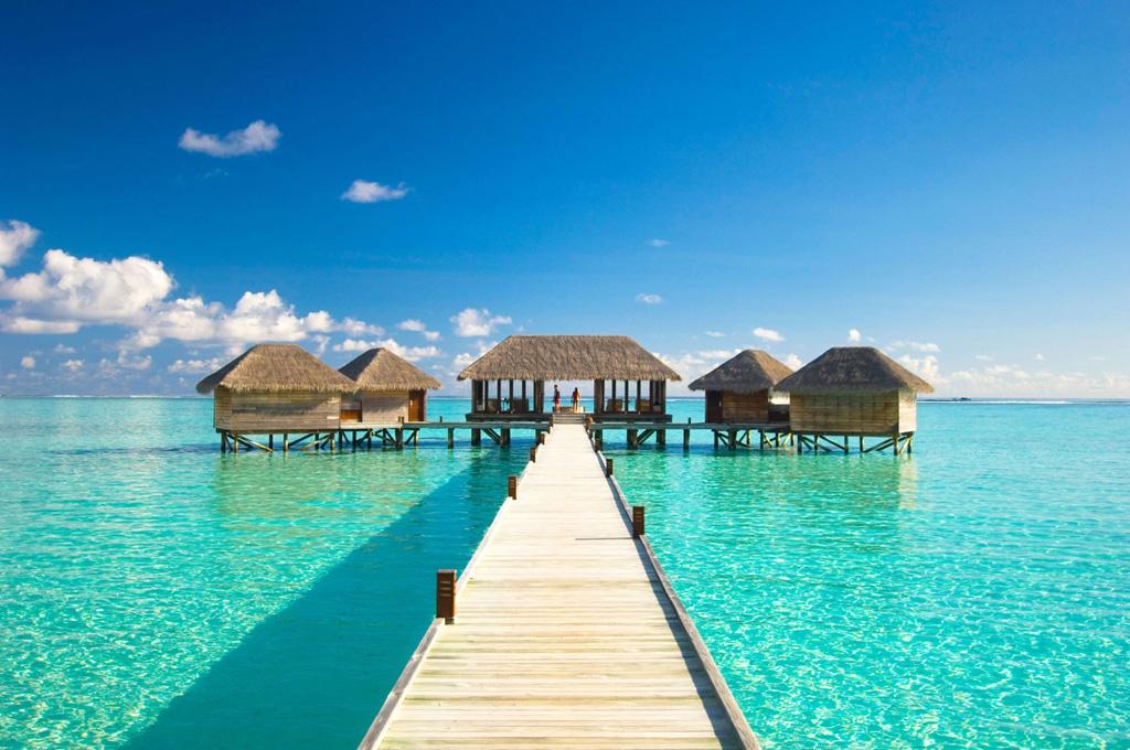Пляж Конрад Рангали на Мальдивах, фото 12
