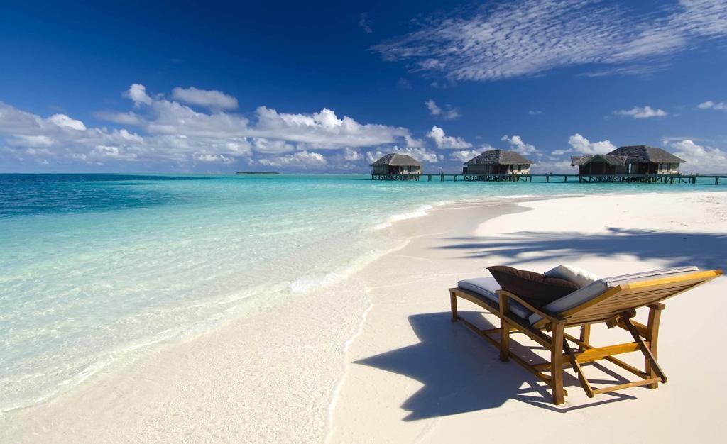 Пляж Конрад Рангали на Мальдивах, фото 15