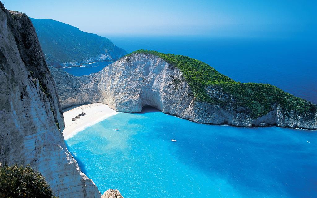 Пляж Навагио в Греции, фото 1