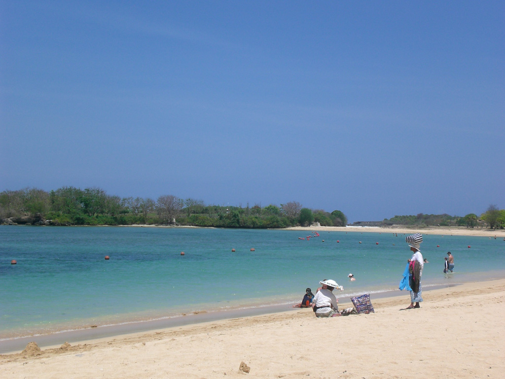 Пляж Нуса-Дуа в Индонезии, фото 7