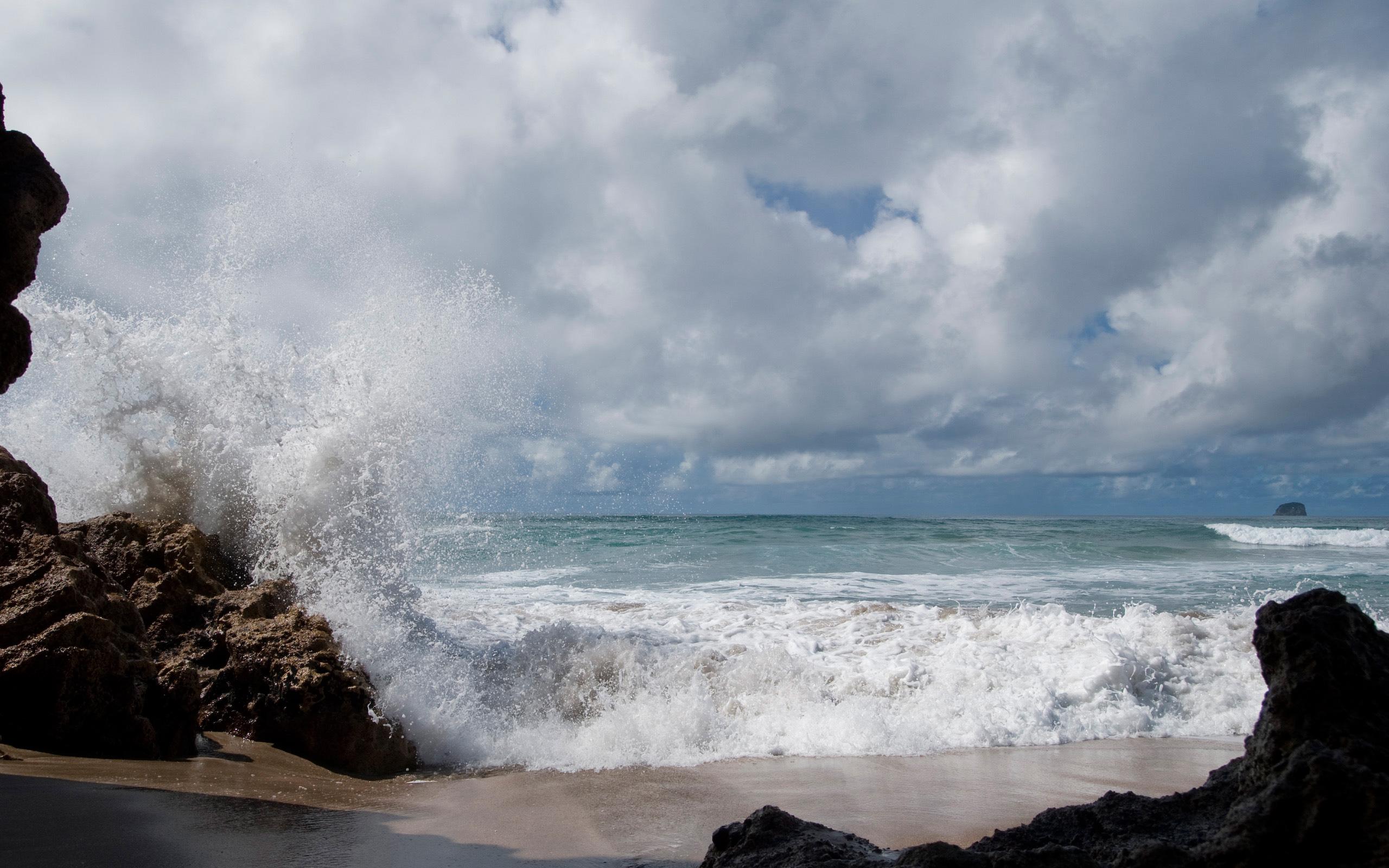 Пляж Хот-Вотер Бич в Новой Зеландии, фото 2