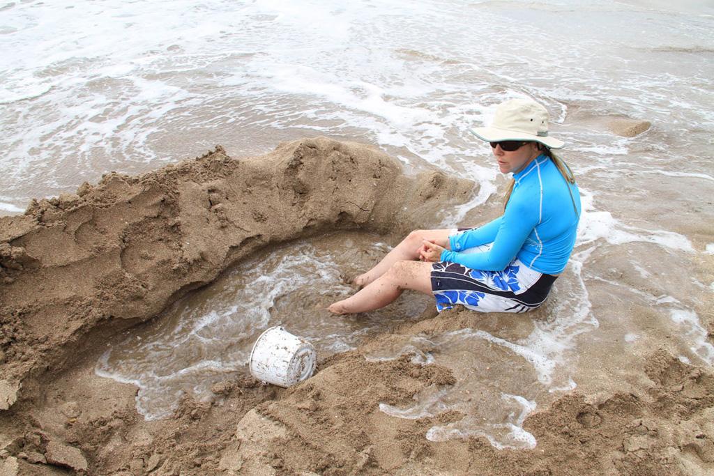Пляж Хот-Вотер Бич в Новой Зеландии, фото 5