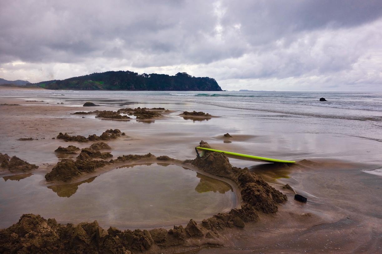 Пляж Хот-Вотер Бич в Новой Зеландии, фото 16