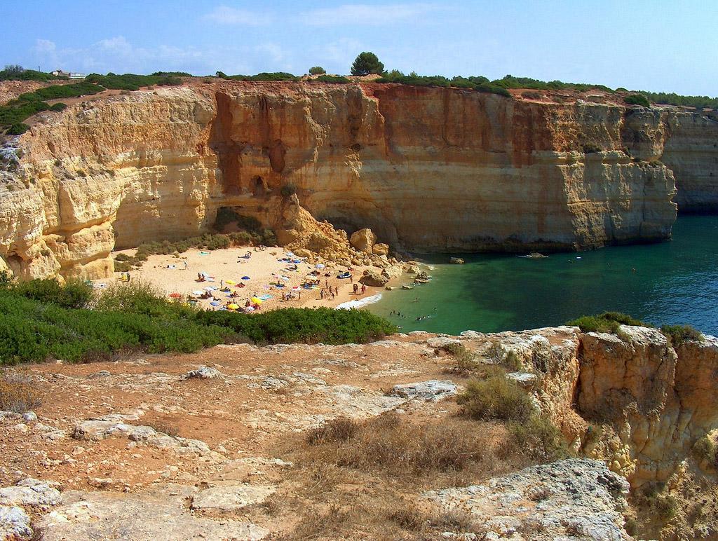 Пляж Бенагил в Португалии, фото 13