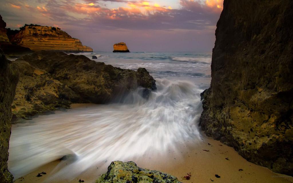 Пляж Бенагил в Португалии, фото 14