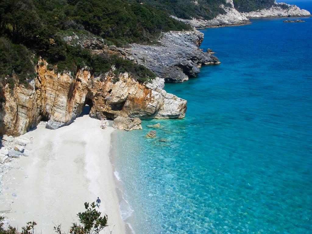Пляж Гриас Пидима в Греции, фото 1