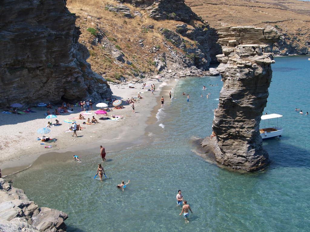 Пляж Гриас Пидима в Греции, фото 2