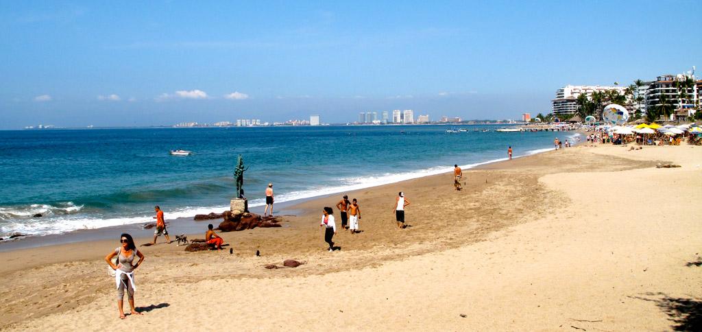Пляж Нуэво-Вальярта в Мексике, фото 4