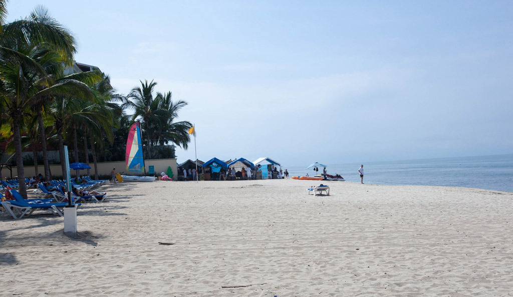 Пляж Нуэво-Вальярта в Мексике, фото 6