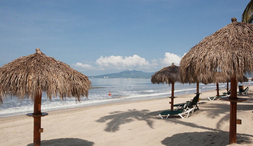Пляж Нуэво-Вальярта в Мексике, фото 9
