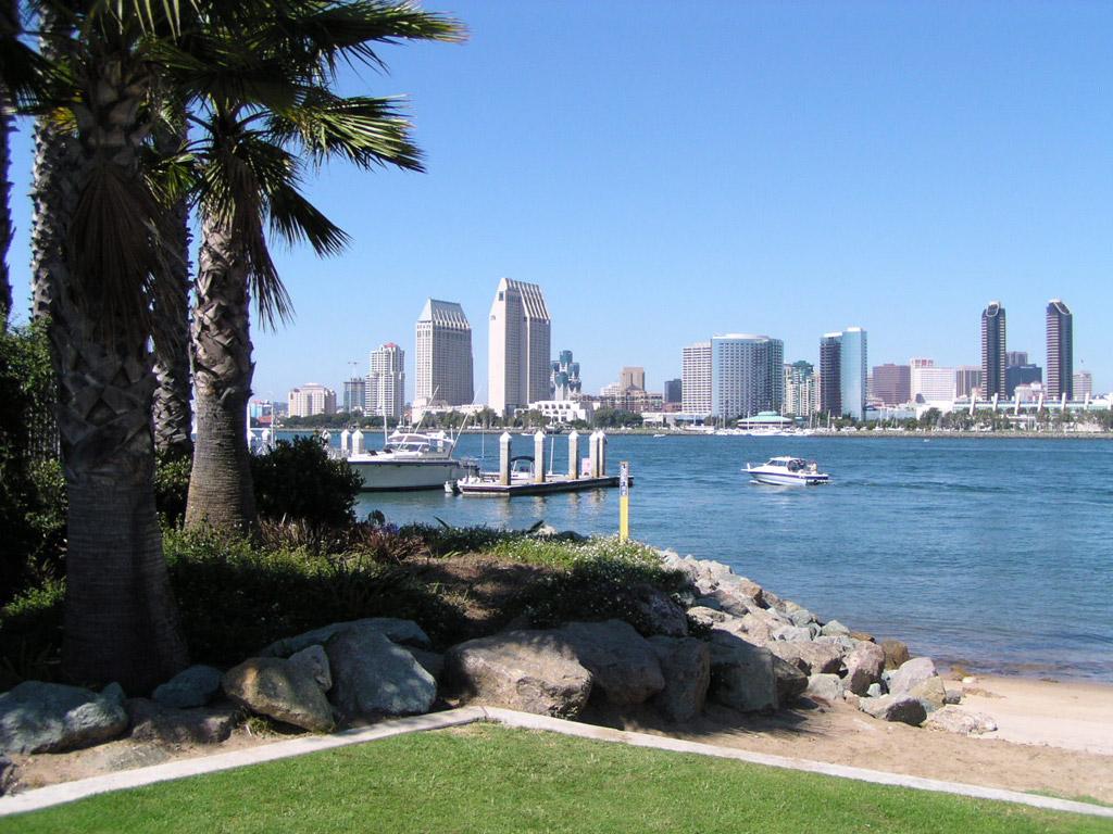 Пляж Сан-Диего в США, фото 1