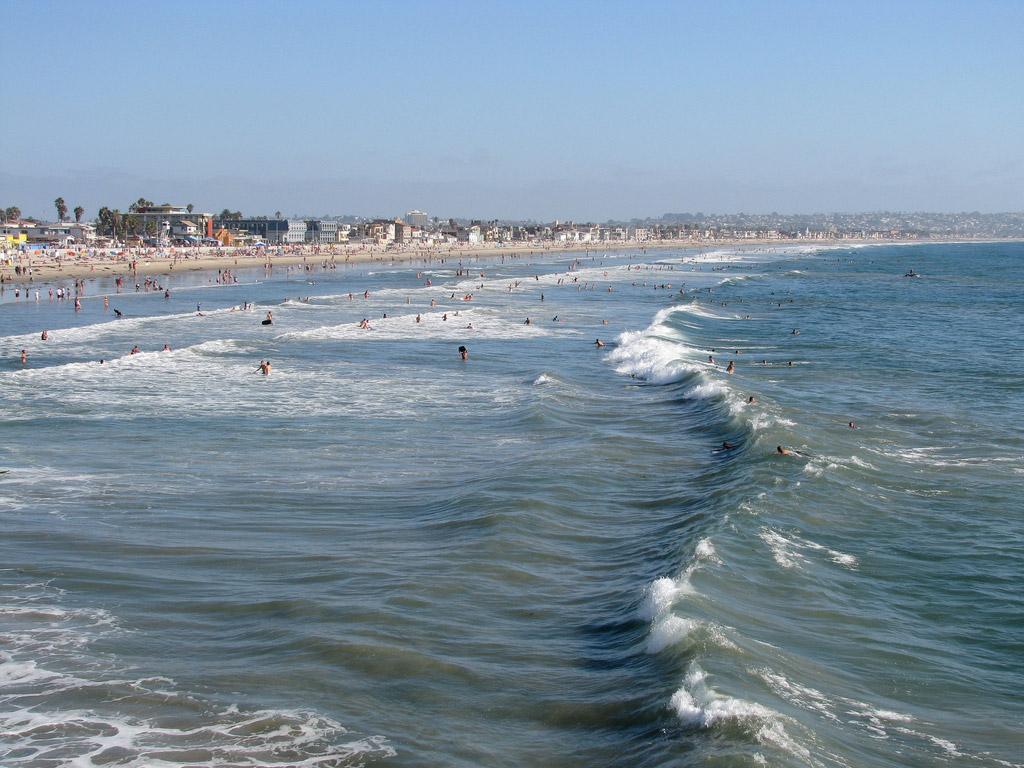Пляж Сан-Диего в США, фото 6