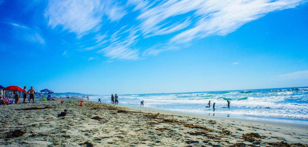 Пляж Сан-Диего в США, фото 17