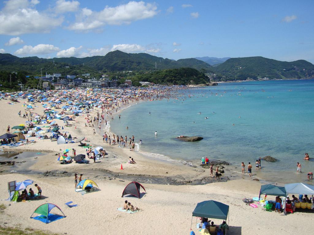 Пляж Сидзуока в Японии, фото 3