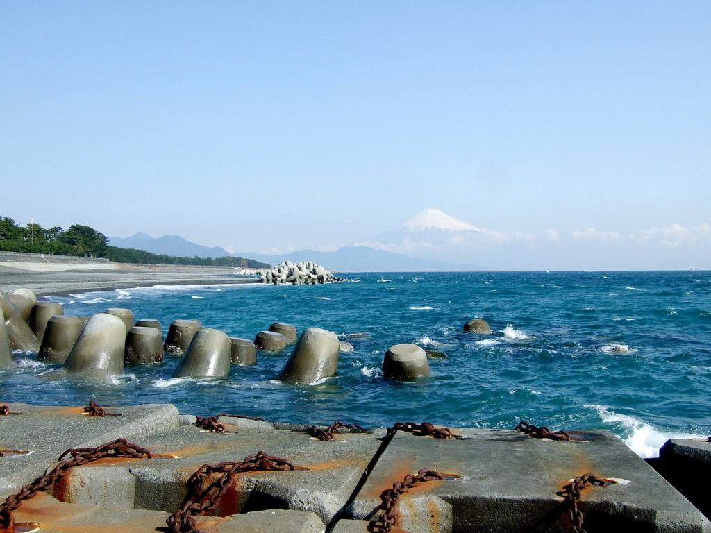 Пляж Сидзуока в Японии, фото 4