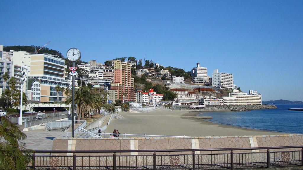 Пляж Сидзуока в Японии, фото 5