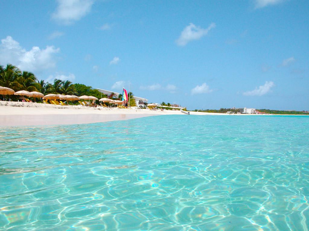 Пляжи острова Ангилья на Карибских Островах, фото 1