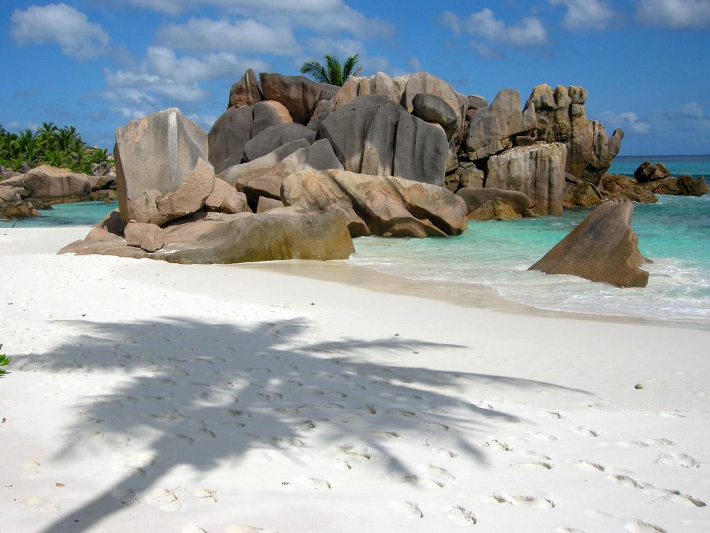 Пляж Анс Кокос на Сейшелах, фото 1